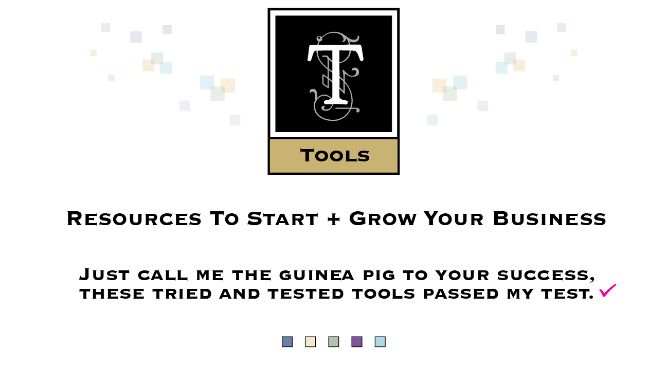 small business tools and resources