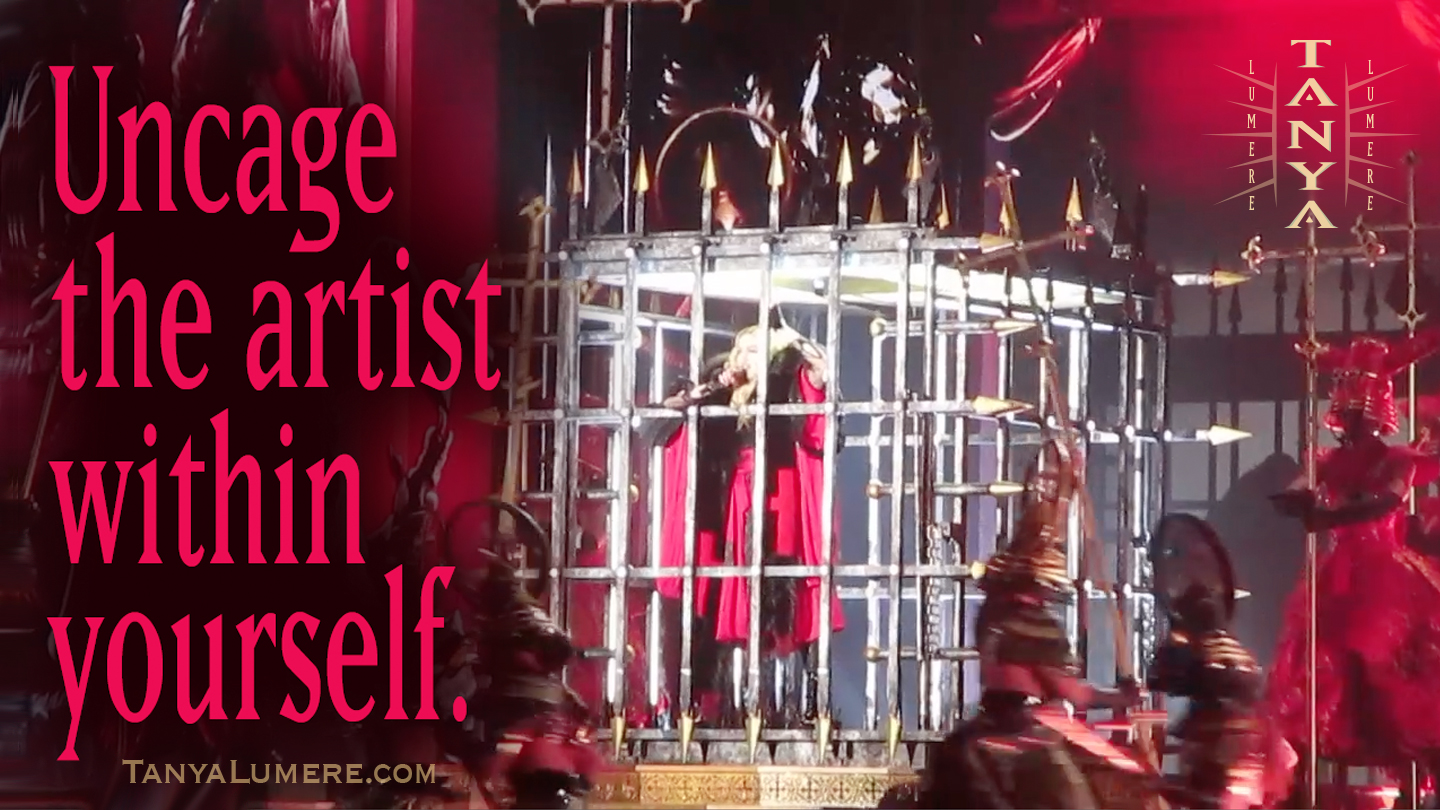 Uncage The Artist Within Yourself